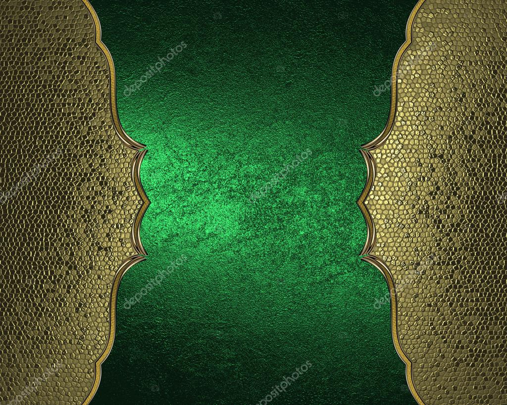 Top 100+ Green And Gold Picture Frame