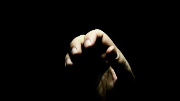 ruční, modlit se. Pomocnou ruku