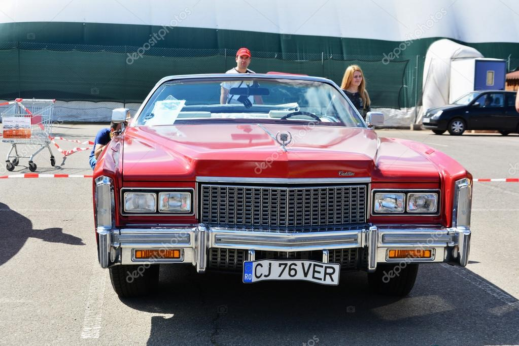 2016 Cadillac Convertible >> Cadillac Eldorado Convertible 1976 Stock Editorial Photo
