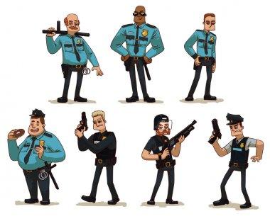 Set of Policemen