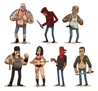 Set of criminals