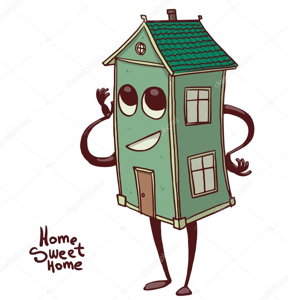 призываем картинки дом с глазами одном