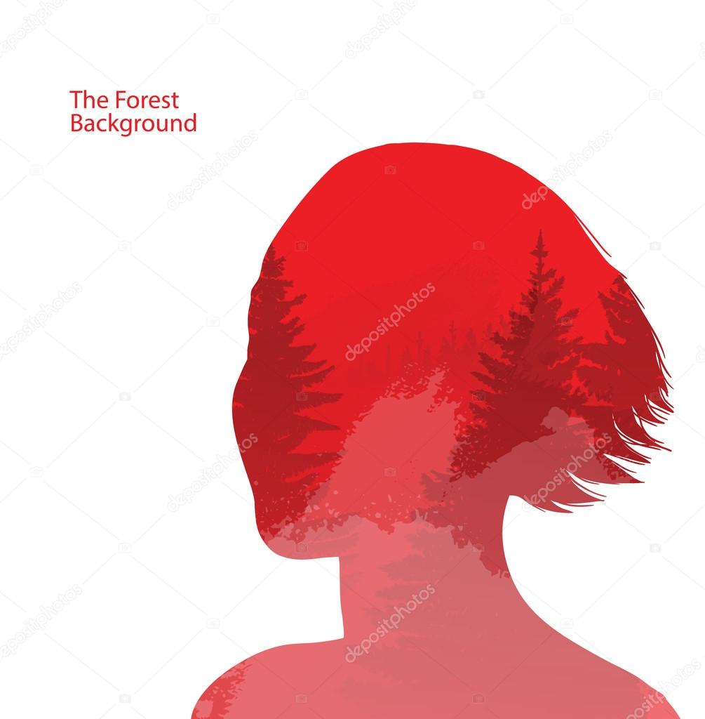 Get Red Background Design Portrait Pictures