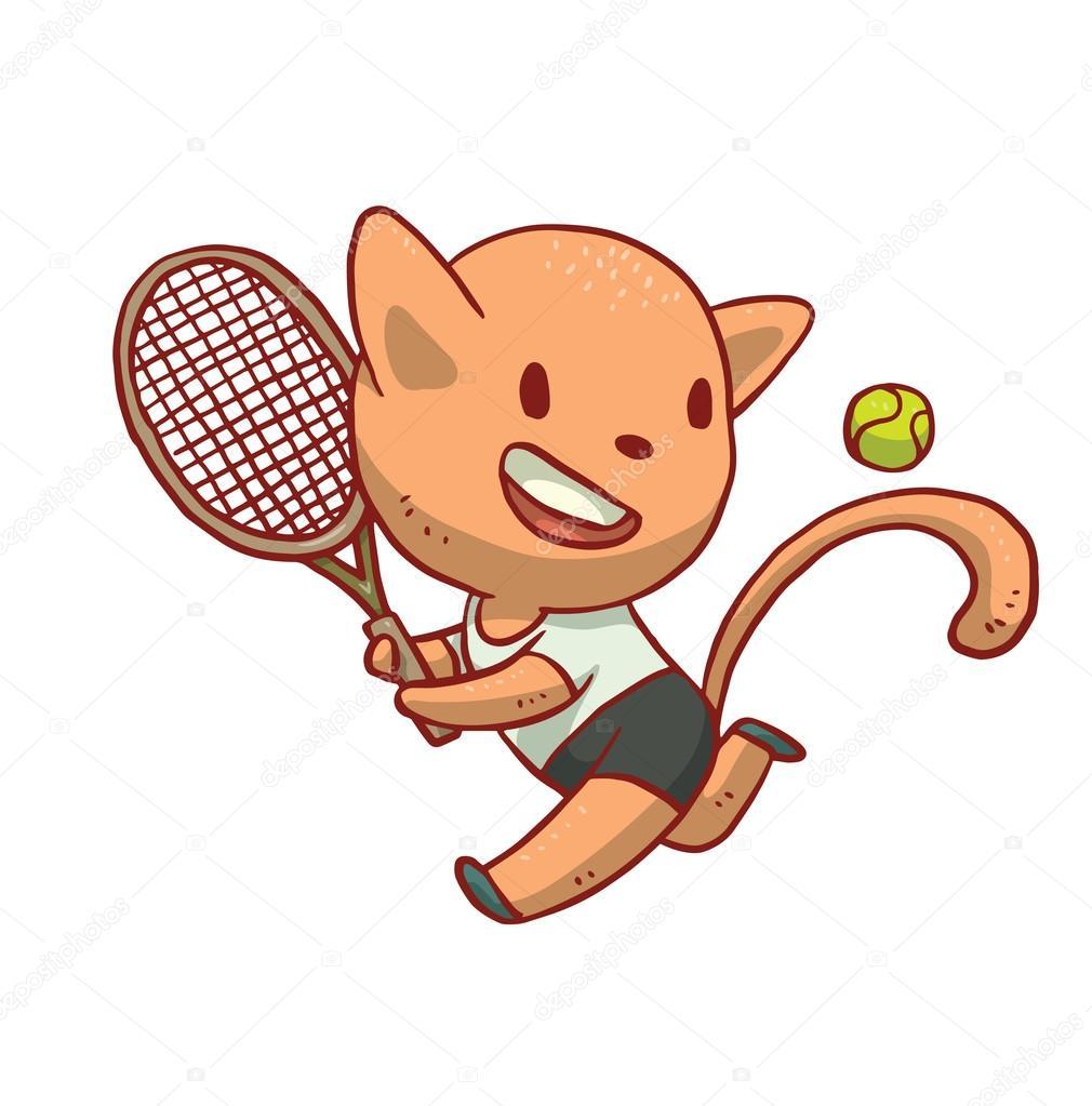 Cute Tennis Clip Art