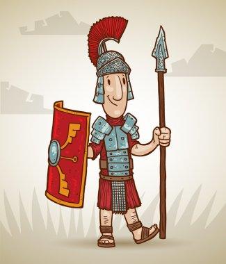 Standing warrior rome