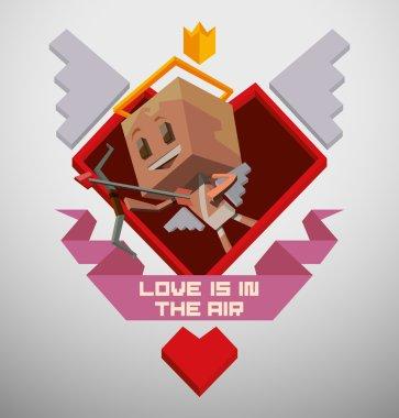 Emblem Cube cupid
