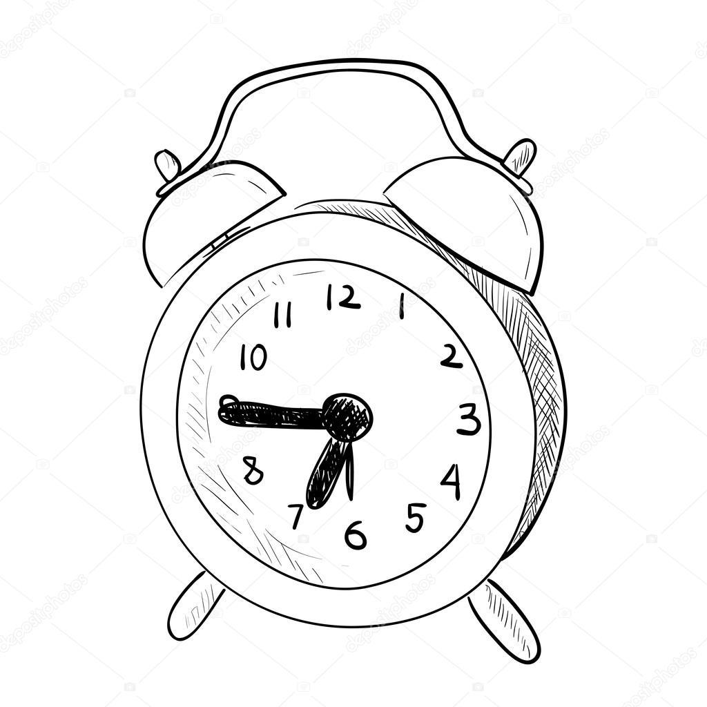 Uhr Skizze