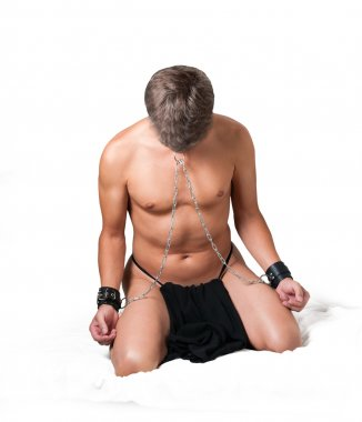 Slave chained