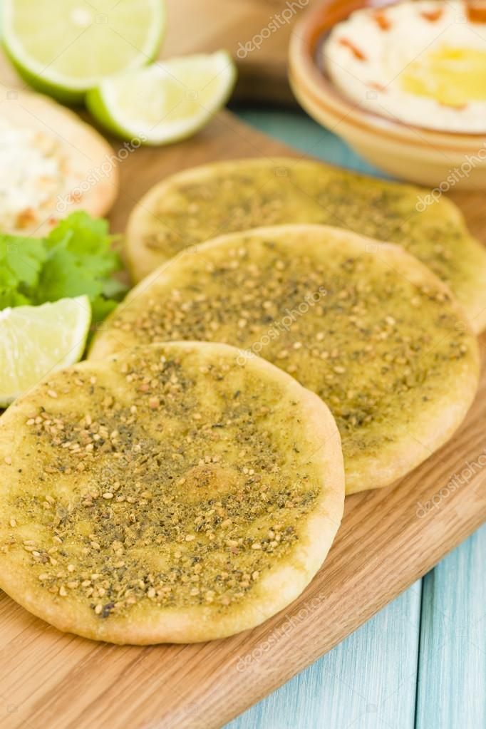 Zaatar & Cheese Manakish