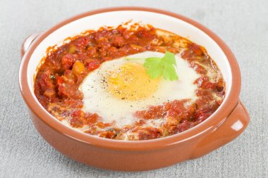 Huevos a la Flamenca (Flamenco Eggs)