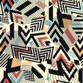 Fényképek Folytonos vector geometriai mintás háttérrel