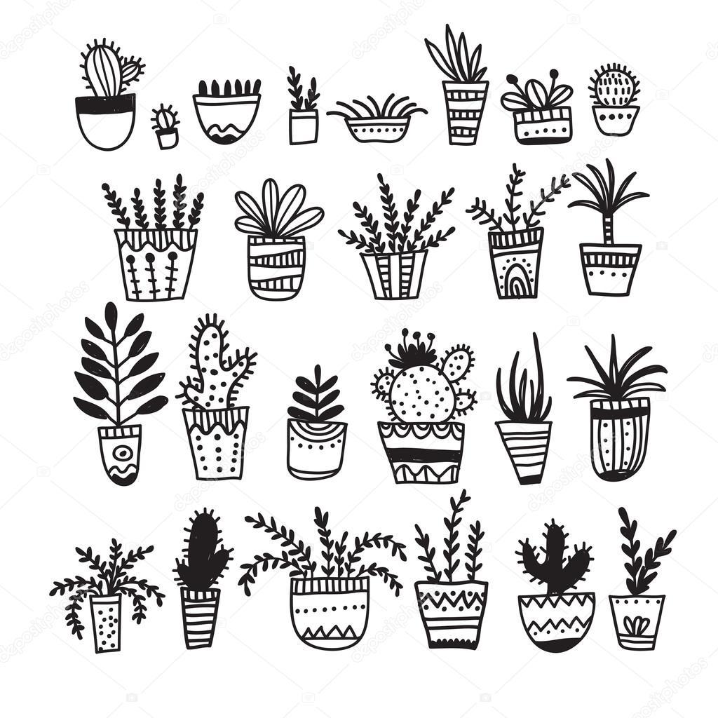 Pots De Fleurs Et Plantes D Interieur En Style Ethnique Boho Fleuri