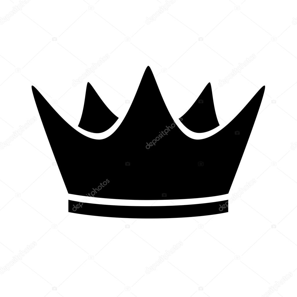 icono de corona negra vector de stock  u00a9 ferdiperdozniy vector crown image vector crown logo
