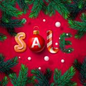 Fotografie Christmas sale poster