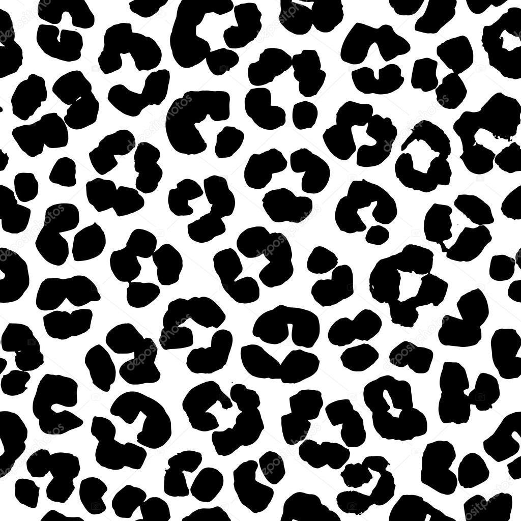 motif de fond transparente imprim e l opard noir et blanc image vectorielle svsunny 118367602. Black Bedroom Furniture Sets. Home Design Ideas