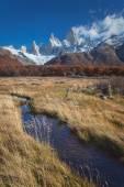Monte fitz roy, parco nazionale los glaciares, patagonia