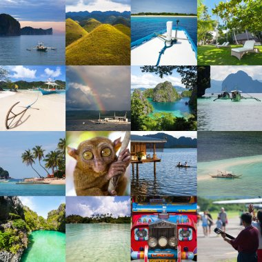 Attractions of Philippines photo set