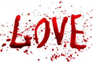 Bloody word Love