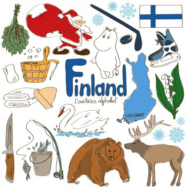 Collection of Finland icons