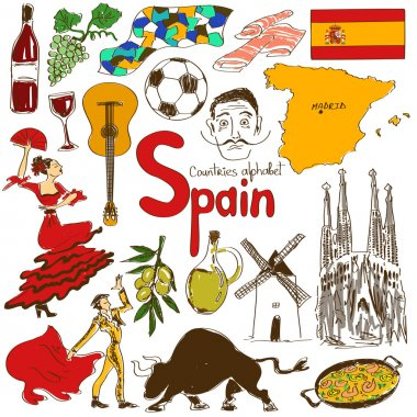 Collection of Spain icons