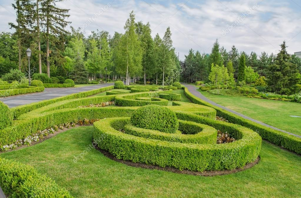 Park square landscape design beautiful ornamental for Beautiful landscape design