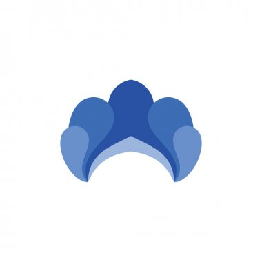 Water splash logo design vector icon