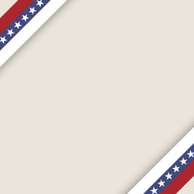 stars and stripes ribbons background