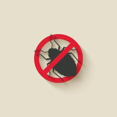 bug warning sign