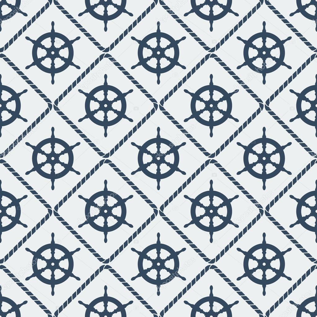steering wheel seamless pattern
