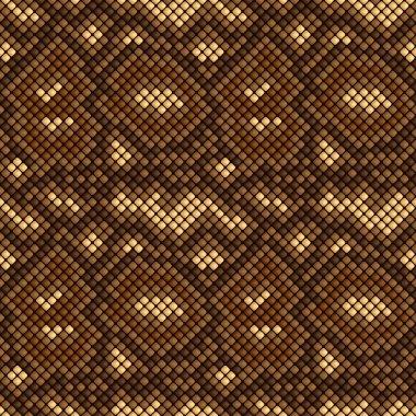 snake skin seamless pattern