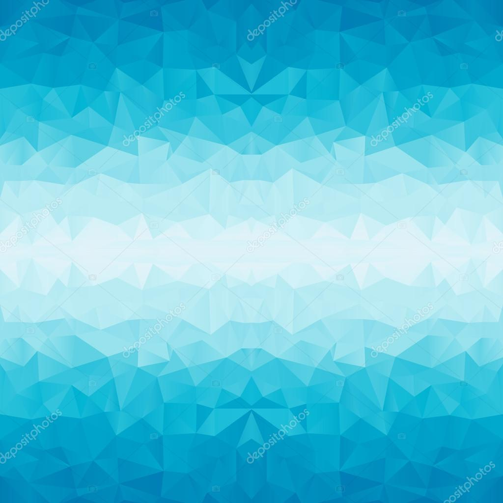 polygonal blue background
