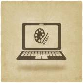 Vzdálenost online učení symbol