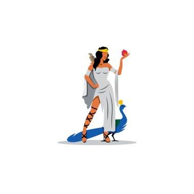 Mythological Greek goddess of marriage