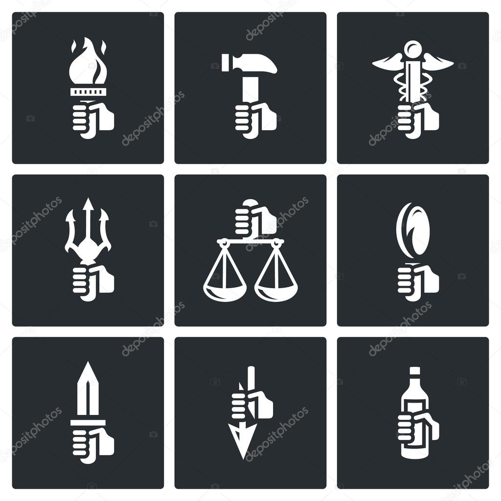 Symbols of gods in greek mythology stock vector steinar14 symbols of gods in greek mythology stock vector biocorpaavc