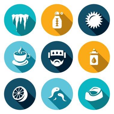 Set of Disease Icons