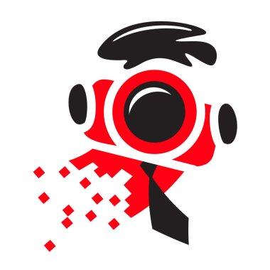 Photographer logo sign