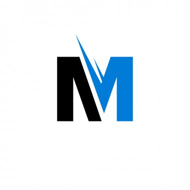 Sign of   letter M, icon
