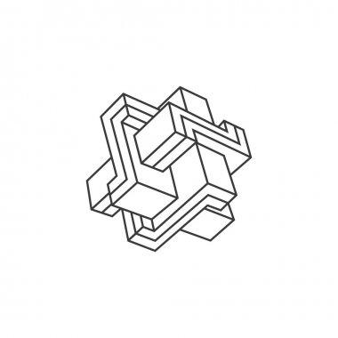 Geometric shape sign