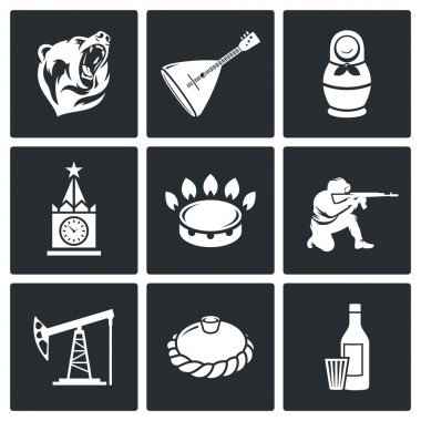 This is Russia   Icons Set