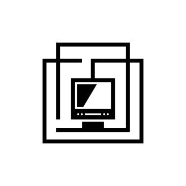 Computing center sign