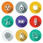 Fotografie Energie, Strom Symbole Satz
