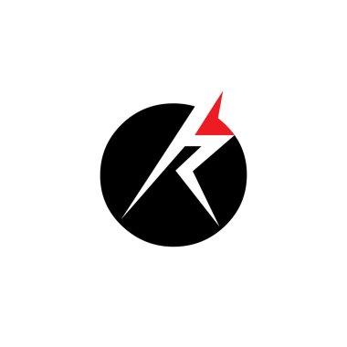Sign of  letter R logo