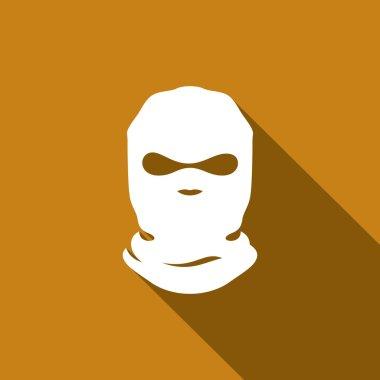 Terrorist Mask, balaclava sign