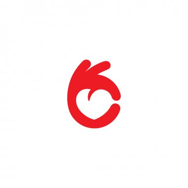 Healthy Heart icon logo