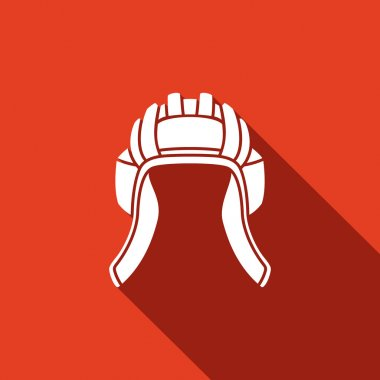 Tank helmet icon.