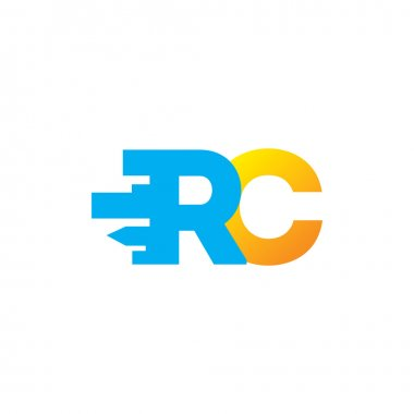 Sign of   letters R and C logo