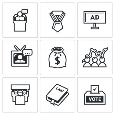 Political Elections icons.