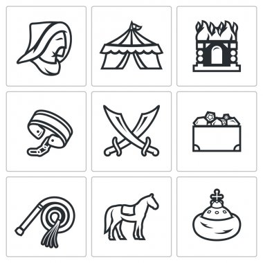 Mongol Tatar yoke icons
