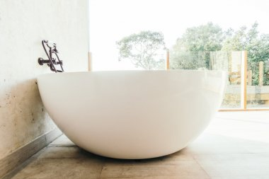 Beautiful luxury Bathtub decoration