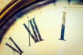 Vintage tvář hodiny